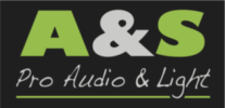 A&S Pro audio & Light Logo